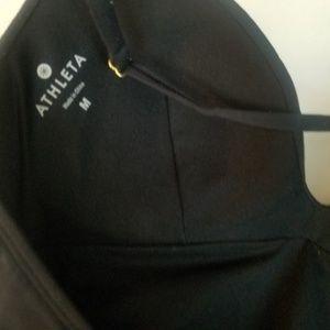 Athleta Swim - ATHLETA Size Medium One Piece Black Swimsuit